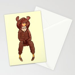 Palabra de oso Stationery Cards