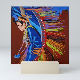 Shaw Dancer #2 Mini Art Print