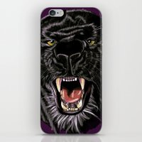panther iPhone & iPod Skins featuring Panther by Tish