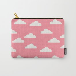 Clouds Pink Carry-All Pouch