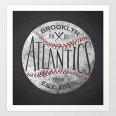 Brooklyn Atlantics  Art Print