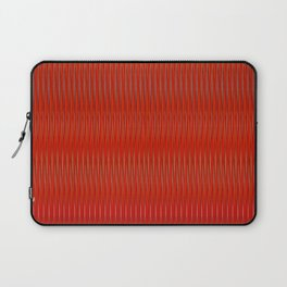Red stripes Laptop Sleeve