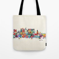 south africa Tote Bags featuring Cape Town South Africa by bri.buckley