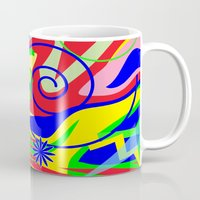 graffiti Mugs featuring Graffiti by DesignsByMarly