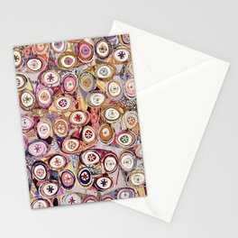 Circle Repeat Stationery Cards