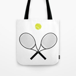 Tennis Racket And Ball 2 Tote Bag