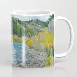 Mountain Stream Art Coffee Mug