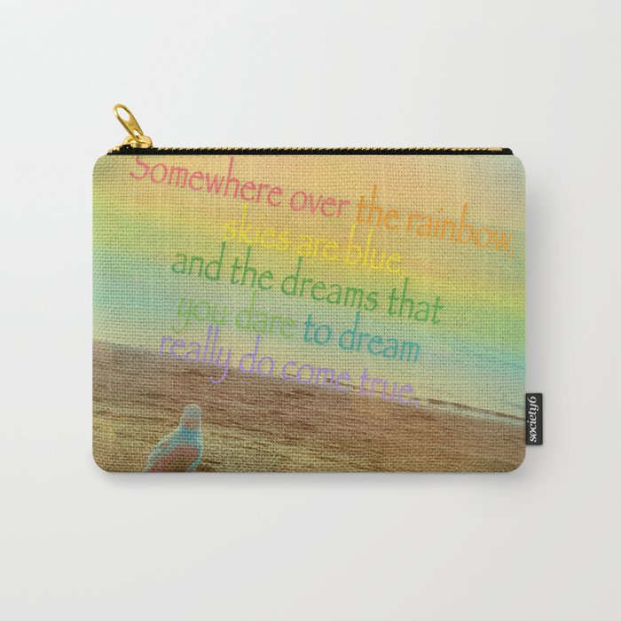 Somewhere Over the Rainbow Carry-All Pouch