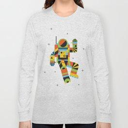 Hello Spaceman Long Sleeve T-shirt