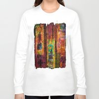 rio Long Sleeve T-shirts featuring Rio by FYLLAYTA, surface design,Tina Olsson
