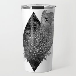 Cosmic Owl Travel Mug