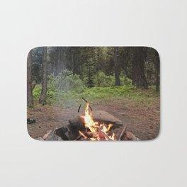 Backpacking Camp Fire Bath Mat