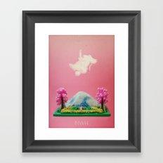 m a g i c g a r d e n Framed Art Print
