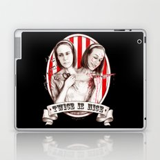 Tattler Twins (edited) Laptop & iPad Skin
