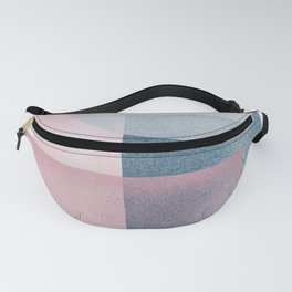 Pink Grey Green Fanny Pack