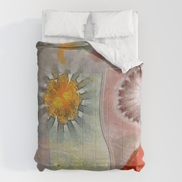 Flagonet Reality Flowers  ID:16165-093245-05721 Comforters