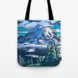 Rainier Summer Tote Bag
