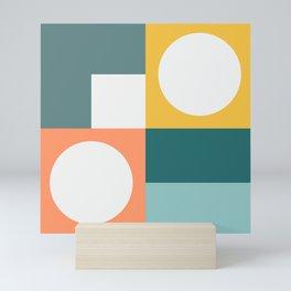 Modern Geometric 53 Mini Art Print