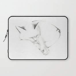 Snuggle Cat Laptop Sleeve