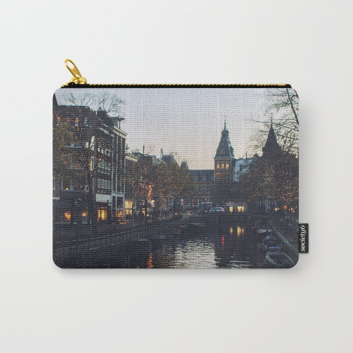 Winter in Amsterdam Carry-All Pouch