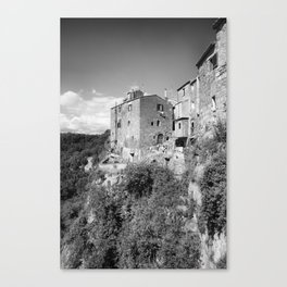 Medieval village in Italy #2 Canvas Print