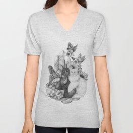 A Portrait of Us Unisex V-Neck