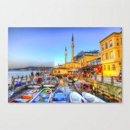 Picturesque Istanbul Canvas Print