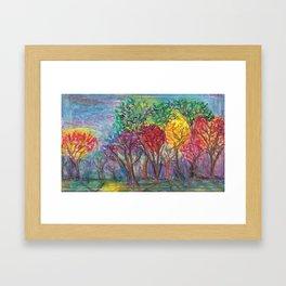 Forest For The Trees Framed Art Print