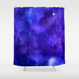 Jared space Shower Curtain
