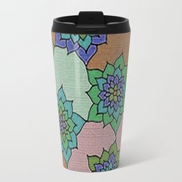 zakiaz autumn lotus Travel Mug