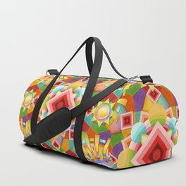 Art Deco Circus Duffle Bag
