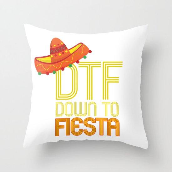 DTF Down To Fiesta Funny Cinco De Mayo Gift Mexican Sombrero by mintedfresh