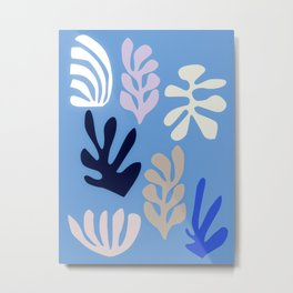 Seagrass 2 - oceanic Metal Print