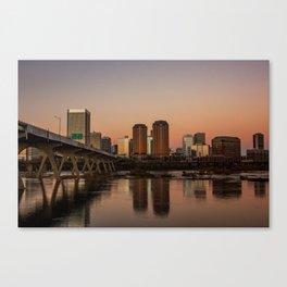 Richmond At Sunset Canvas Print