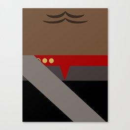 Worf - Minimalist Star Trek DS9 Deep Space Nine - Lieutenant Commander - startrek - Trektangles Canvas Print