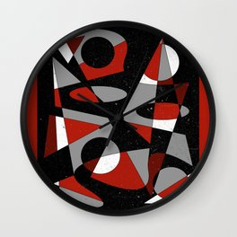 Abstract #116 Wall Clock