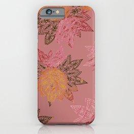 RAINBOW HENNA iPhone Case