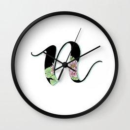 nymphea Wall Clock