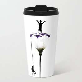 Rose mountain Travel Mug