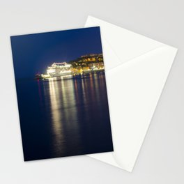 Monaco la Nuit // Monaco by Night Stationery Cards
