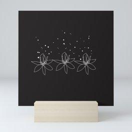 Magical flowers  Mini Art Print