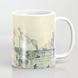 """Paul Signac """"Paris, le Pont des Arts"""" Coffee Mug"""