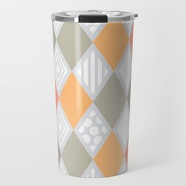 arlequin pattern Travel Mug