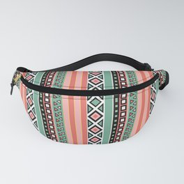 Stripes ethnic Fanny Pack