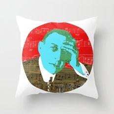 Rachmaninov round 4 Throw Pillow