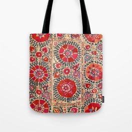Samarkand Suzani Southwest Uzbekistan Embroidery Tote Bag