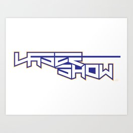 LaserShow Art Print