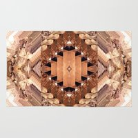 geode Area & Throw Rugs featuring Tucson Geometric Geode by Maison Donaville