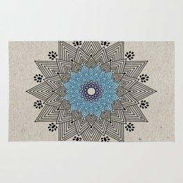 Digital Mandala #5 Rug