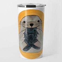 Fishy Seal Travel Mug